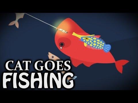 Leech Fish - Cat Goes Fishing