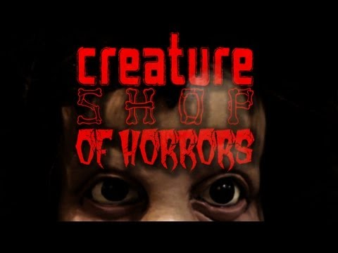 Creature Shop of Horrors (Danz Newz Vlog)