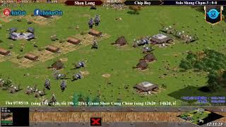 AoE Trung Việt | Nội Dung Solo Shang Trung Quốc vs Việt Nam Ngày 05-07-2018