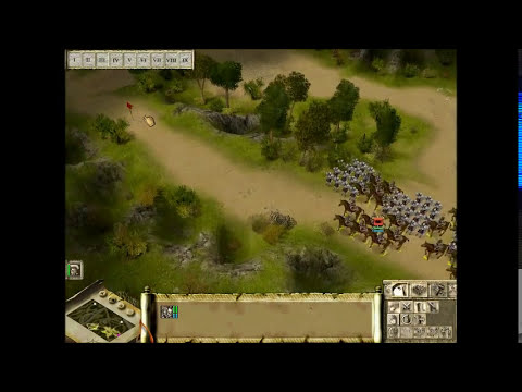 Lets Play: Praetorians! Mission 1: Crossing the River Arar Part 1