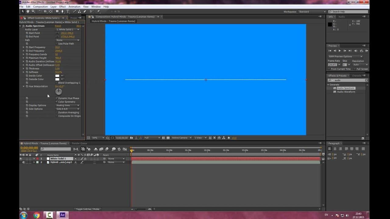 Как сделать появляющийся текст в adobe after effects