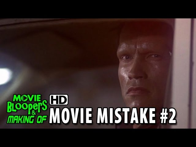 The Terminator (1984) movie mistake #2