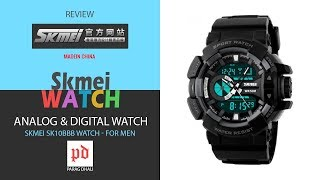 Skmei SK10BBB Watch - For Men (review)