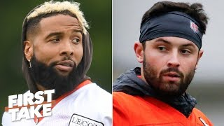 OBJ-Baker Mayfield will be the best duo in the NFL - Max Kellerman | First Take