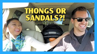 Thongs or Sandals?!