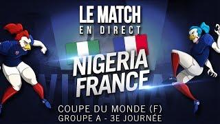 [🔴LIVE] Nigeria 0 - 0 France