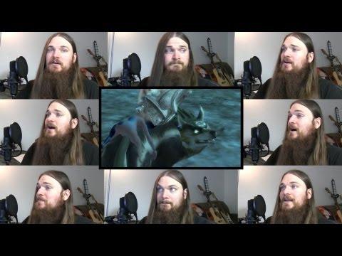 Zelda Twilight Princess - Midna's Lament Acapella video