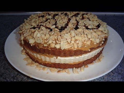 Сникерс торт домашний рецепт пошагово
