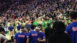 Marcus Smart ejected vs. Sixers, eggs on fans as he leaves
