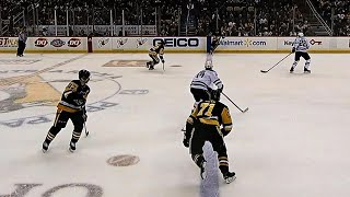 Controversial off side call costs Penguins goal against Stars