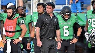 North Texas Football Coach Seth Littrell Previews His Team in 2018 | Stadium