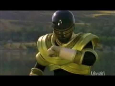 Jason as the Gold Ranger