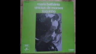 Mariah Bethania Vinicius De Moraes Toquinho Vynil Complet