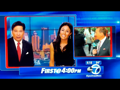 Booey-Bombing WABC's Weatherman Lee Goldberg - I'm Back