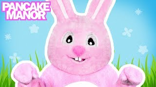 BUNNY HOP ♫| Dance Song for Kids | Pancake Manor