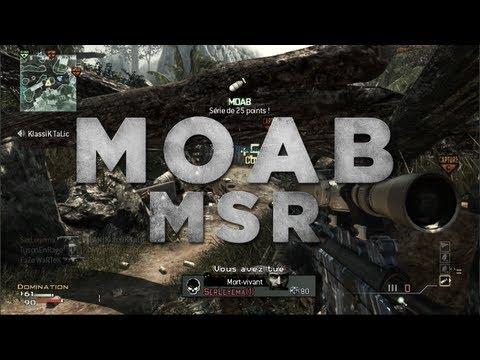 Image video MOAB au MSR durant le live de Gotaga | Spécial 300'000