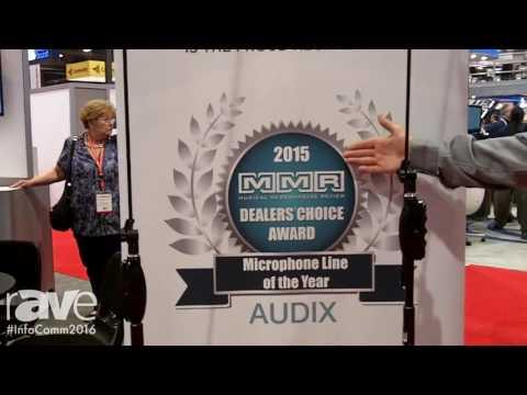 InfoComm 2016: Audix Microphones Highlights MB5050 MicroBoom System