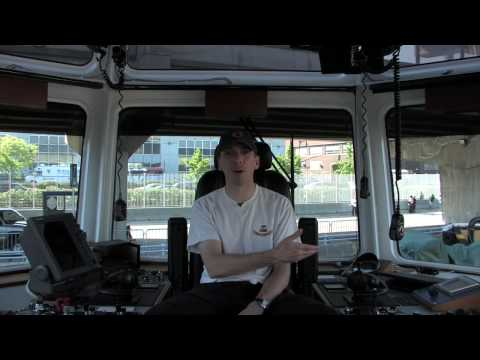 New York on the Clock: Chris Baker, Tugboat Captain Video
