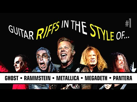 Download How To Do RIFFS Like: Metallica, Megadeth, Rammstein, Ghost, Pantera Mp4 baru