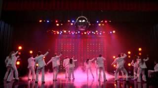 Watch Glee Cast Stayin Alive video