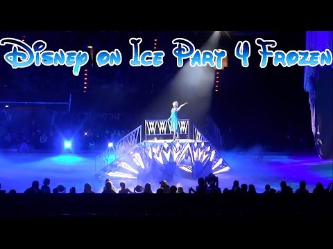 Disney On Ice Berlin 2015 Part 4: Elsa + Anna - Frozen [German Only]