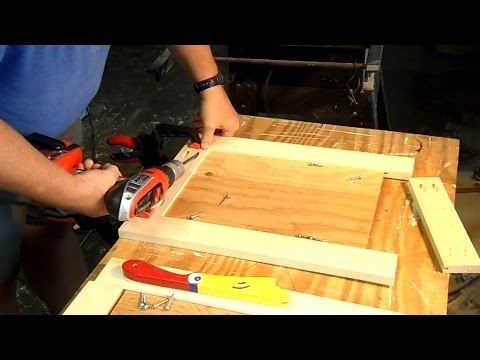 Making Panel Doors Using Pocket Hole Screws