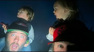 TERRIFYING TODDLERS! (Haunted Corn Maze)