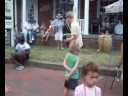 The Melodic Drop Trio at the Carytown Watermelon Festival
