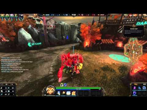 SMITE gameplay ita Isis (Scarlet coven skin)
