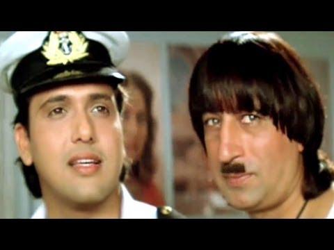 Pak Chik Pak Raja Babu - Govinda Karishma Kapoor Raja Babu Comedy...