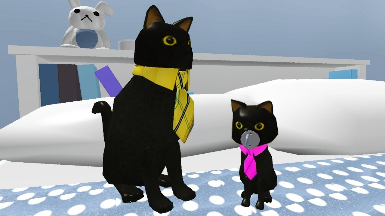 SIR MEOWS A LOT HAS A BABY! (Roblox Movie)