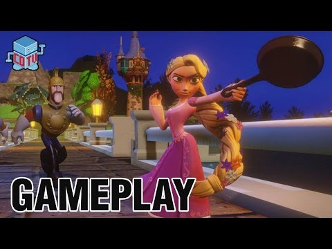 Disney Infinity Rapunzel Gameplay Commentary