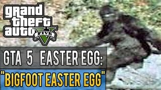 Grand Theft Auto 5 | BIGFOOT EASTER EGG | GTA 5 | (HD)