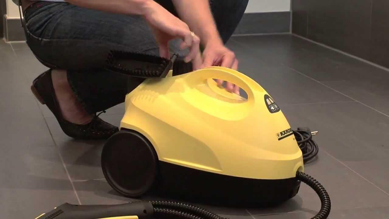 Karcher sc 1020 video 2 3 karcher market f rat elektrik for Karcher pulitore a vapore sc 5