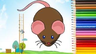 Hướng Dẫn Cách Vẽ Con Chuột Nhắt Đơn Giản