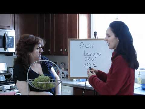 Lesson 23 - Fruits - Learn English with Jennifer