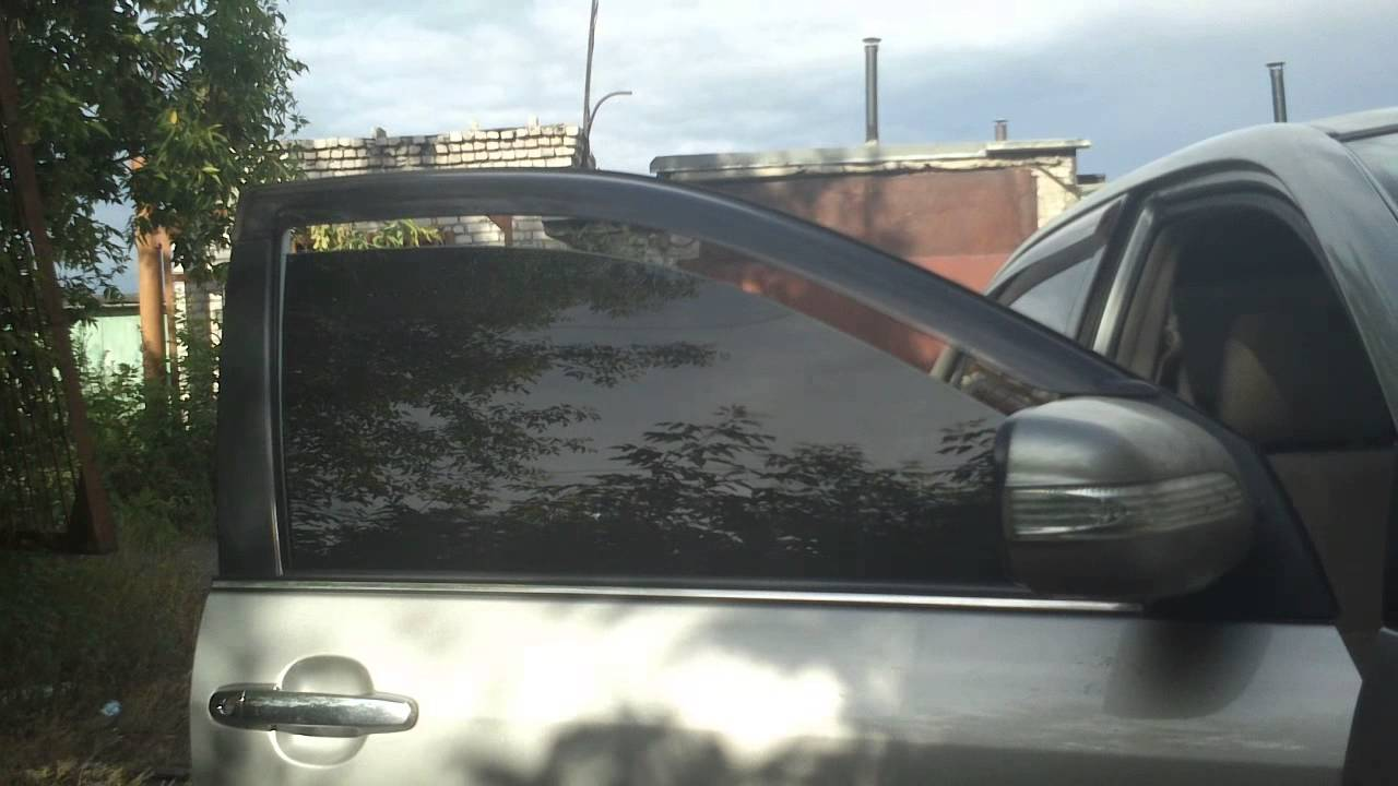 Двойное стекло тонировка на иномарку своими руками