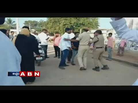 Clash between TRS and Congress activists in Achampet mandal | Telangana Elections 2018