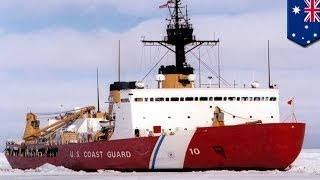 American icebreaker dispatched to rescue trapped ships in Antarctica