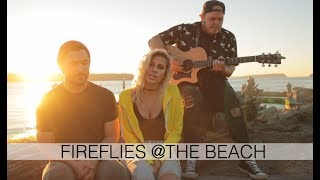 Download Lagu Owl City - Fireflies AT THE BEACH (Andie Case Cover) Gratis STAFABAND