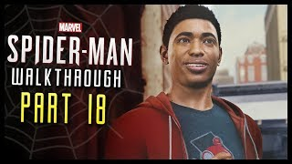 Spider-Man PS4 Walkthrough Part 18 Miles Morales! First Day