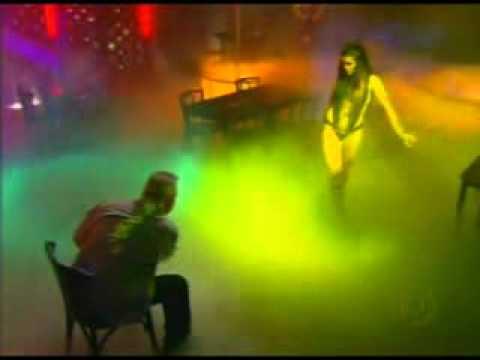 Flávia Alessandra Pole Dance / Strip Tease in Fog Music Videos