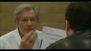 extras bloopers sir ian mckellen on acting