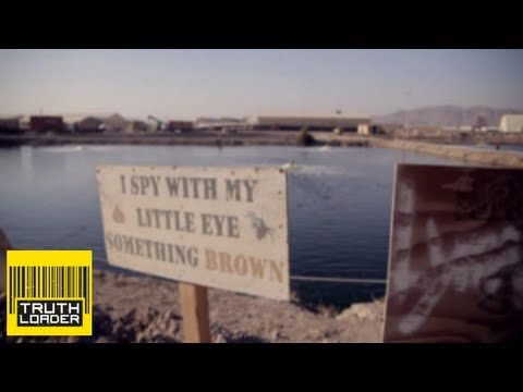 US military has poo pond problem in Kandahar - Truthloader