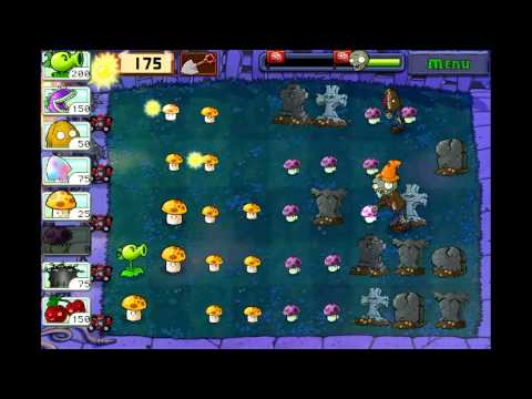 Plants Vs Zombies gameplay Ipod HD 269)