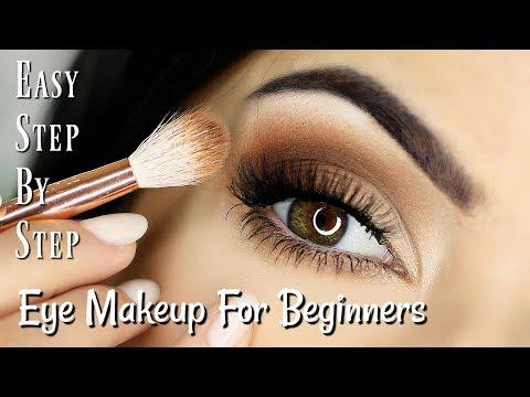 Beginner Eye Makeup Tips & Tricks | STEP BY STEP EYE MAKEUP FOR ALL EYES