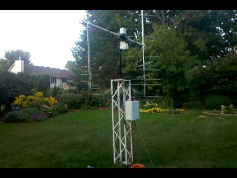 KD0IDB's (amateur satellite tracking) ground station