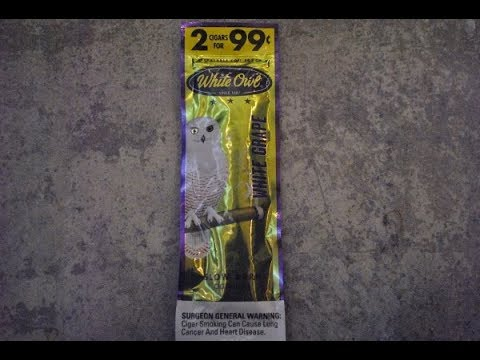 How to Roll Up a White Owl Blunt
