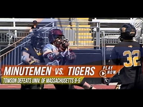 UMass vs. Towson | 2013 Lax.com College Highlights