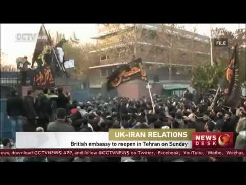 UK for Iranians: Britain's foreign secretary reopens UK embassy in Iran